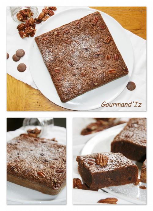 gateau chocolat, brownie