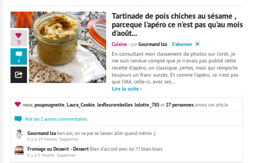 tartinade pois chiches,pois chiches,hoummous,sésame