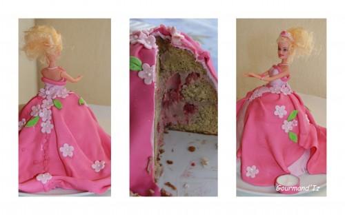 gâteau princesse, gâteau barbie, barbie cake