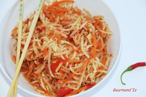 salade papaye lao