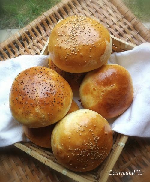buns, pains burgers
