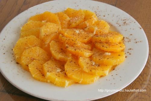 un dessert fruit 233 vitamin 233 la salade d orange gourmand iz