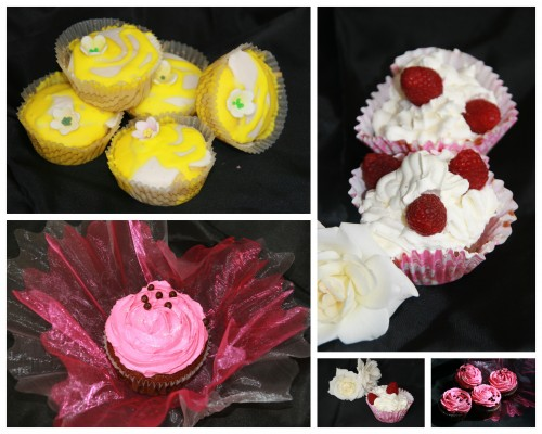 cupcake,chocoat,framboise,ciitron