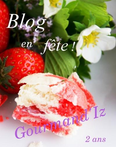 blog en fête gourmand'iz