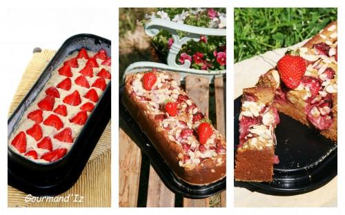 pudding, fraises, verveine, gâteau IG bas