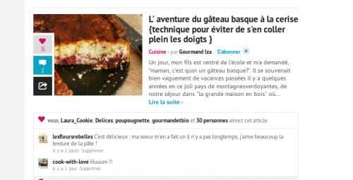 recette de gâteau basque,gâteau basque à la cerise