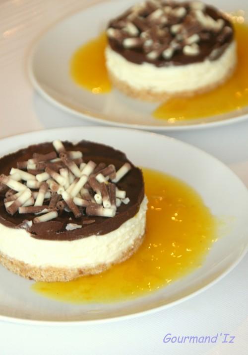 cheesecake,fleur d'oranger