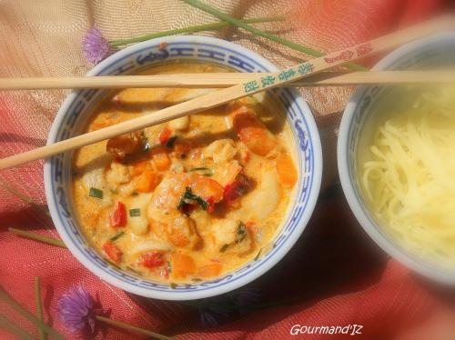 recette de sauté de crevettes, crevettes sauce asiatique, crevettes aux noix de cajou