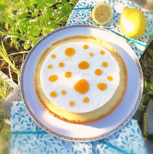 tarte au citron, tarte au citron meringuée, gelée citron, arnaud lahrer