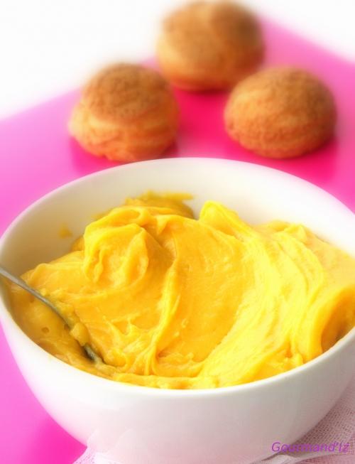 recette de crémeux, crémeux de mangue, passion