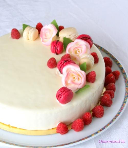 entremets vanille, fruits rouges, framboise, fraise, pascal lac, perle