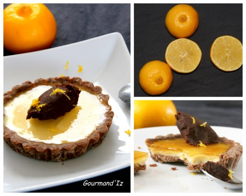 tarte au citron, tarte bergamote, ganache chocolat