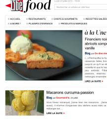 macarons,passion,curcuma