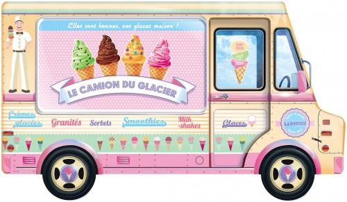 Le camion du glacier, livre à gagner, livre Larousse, livre de recettes de glaces, jeu