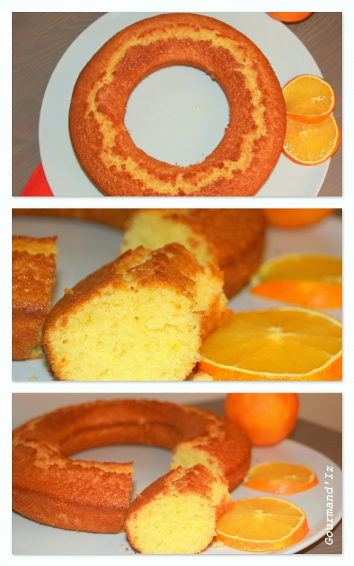 recette de gateau à l'orange, gateau facile à l'orange