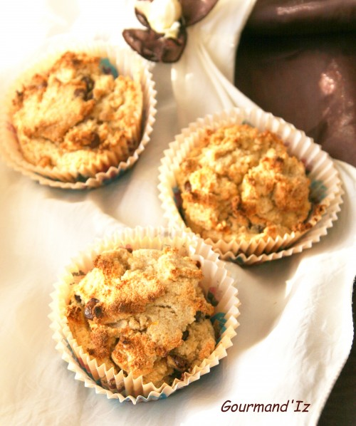muffins sans oeufs, muffins tofu soyeux, muffins coco, muffins vegan