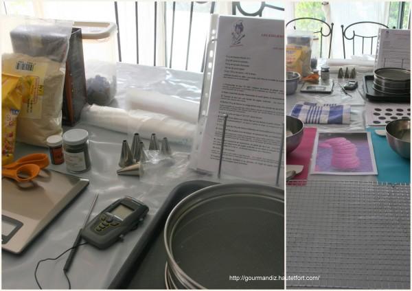 macarons,ateliers culinaires,cours de cuisine,ganges